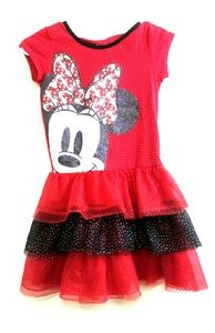 Disney Minnie Mouse dress sz M